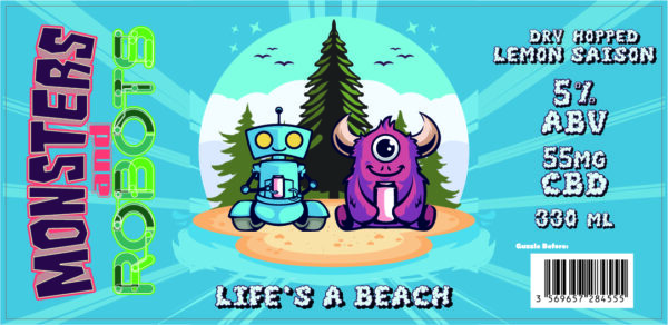 LIFE'S A BEACH (Full Case – 24 Cans)