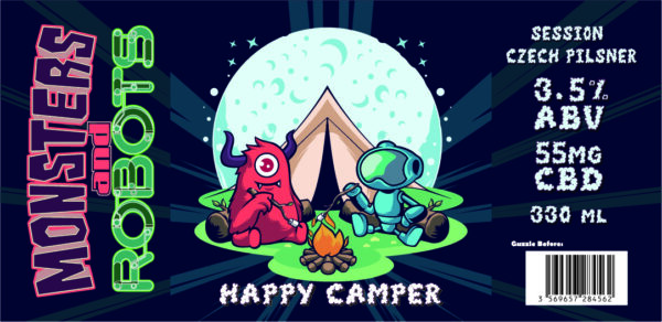 HAPPY CAMPER (Full Case – 24 Cans)